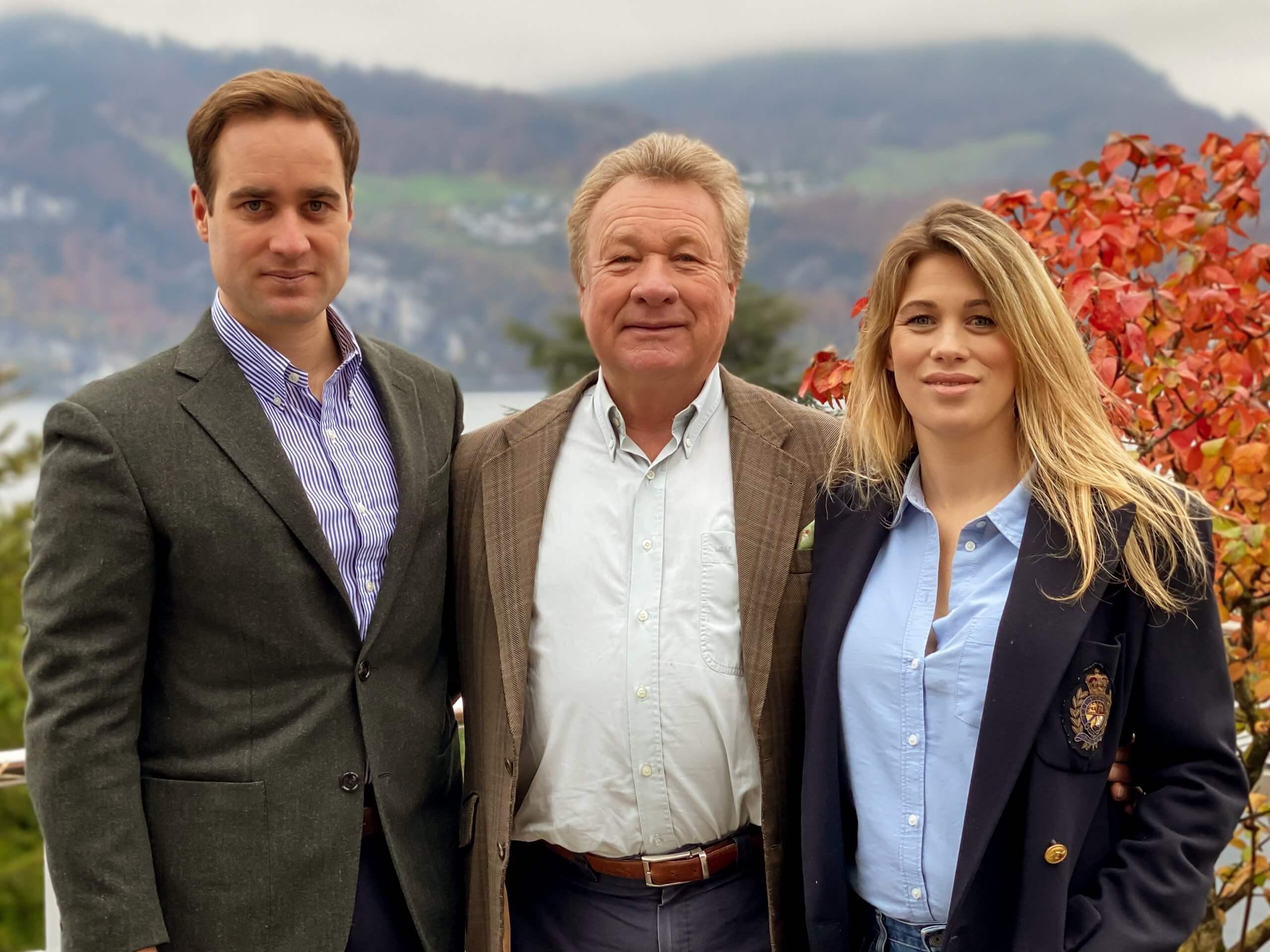 Saxenburg - Vincent, Adrian and Fiona Buhrer